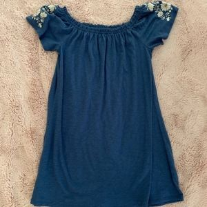 Abercrombie and Fitch blue cotton sundress